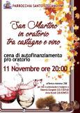 San Martino in oratorio (fra castagne e vino)
