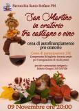 San Martino in oratorio (tra castagne e vino)