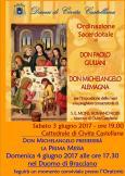 Ordinazione sacerdotale don Michelangelo e don Paolo